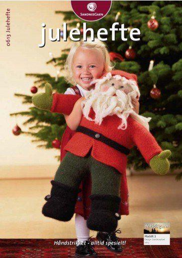 0613 - Julehefte = gratis. Tovet engel og gardinkappe