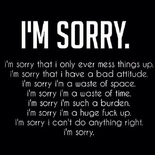 Saying Sorry Quotes