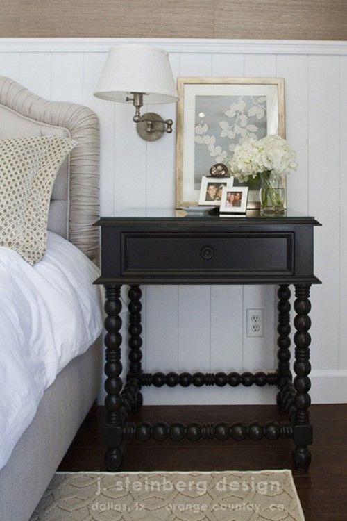 This nightstand could be used in several applications - a living room as a side table, in a small entrance or hallway to hold sundries,  or in a country bath to showcase pretty accessories