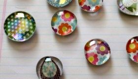 Craft Fair Friday, Part 6: Glass Pebble Magnet Tutorial