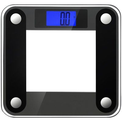Ozeri Precision II Digital Bathroom Scale (440 lbs Capacity), with Weight Change Detection Technology Color: Black