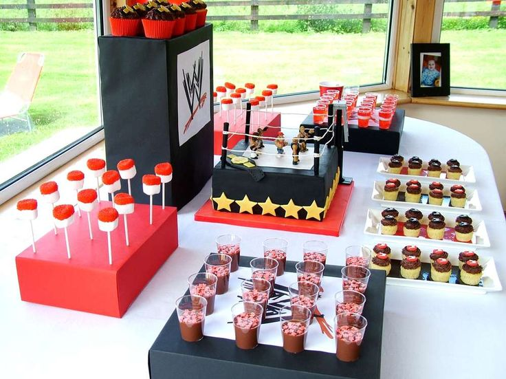 Wrestling Birthday Party Ideas | Photo 4 of 9 | Catch My Party