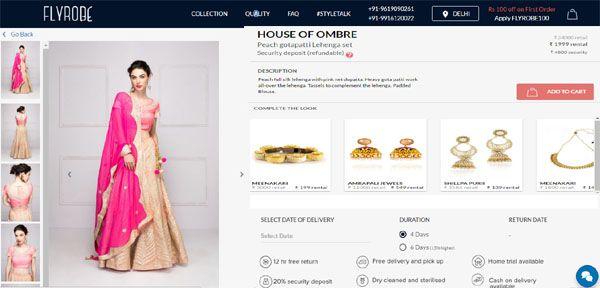 Get Designer Dresses on Rent: Online Boutiques