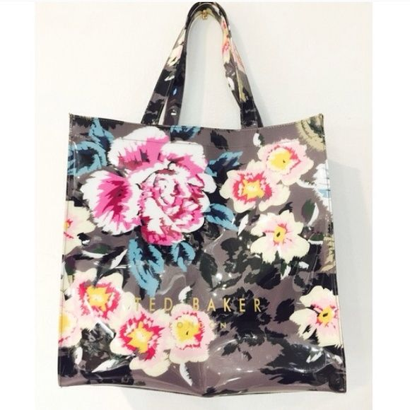 HUGE SAVINGS | HP | Ted Baker XL tote Amazing Ted Baker tote! Perfect for shopping and at the beach. Retails $65 price reflects minor repair it will need to strap. I have calculated the repair thru a repair shop. Price reflects this listing price. ~Sold as is~$48 Ted Baker Bags Totes