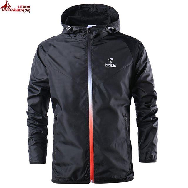 Check it on our site UNCO&BOROR new spring summer mens fashion Outerwear windbreaker men' s thin jackets hooded casual sporting coat size S~3XL just only $15.98 - 16.98 with free shipping worldwide  #jacketscoatsformen Plese click on picture to see our special price for you