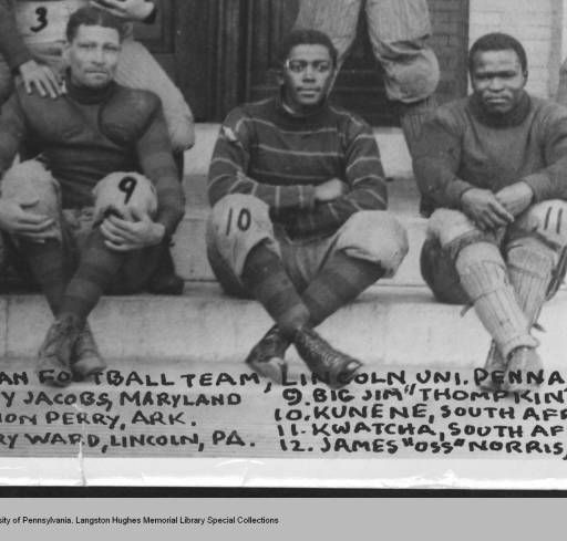 1908 Football Team :: Lincoln University of Pennsylvania's Early Records Online