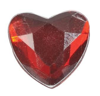 Ces 12 petits cœurs en diamants reflètent la lumière en apportant une touche de joie à votre décoration de table de mariage !