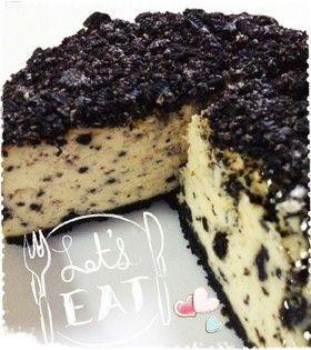 ●オレオのベイクドチーズケーキ