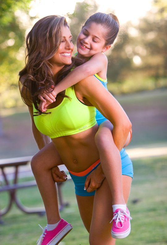 fitness for moms | Hot Mama of the Week: Lisa Robins Make ...