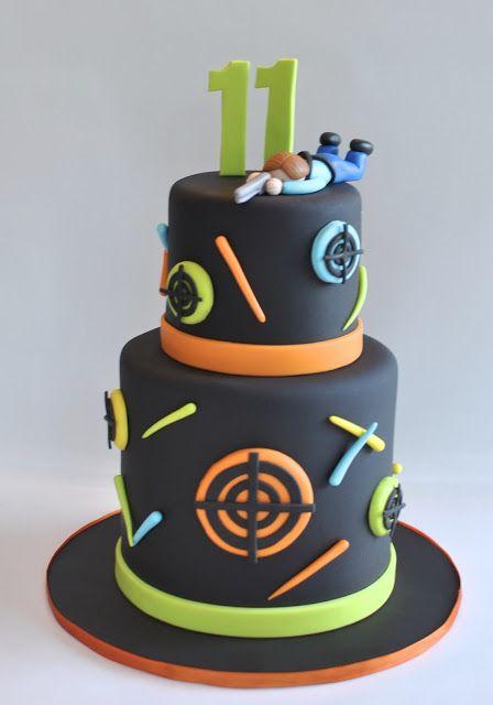 Lazer Tag Cake