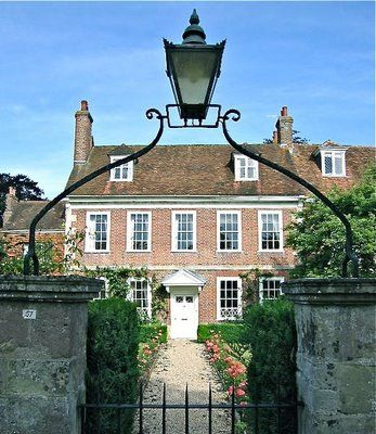 I have a thing for Georgian houses // The Elements of Style: Georgian House