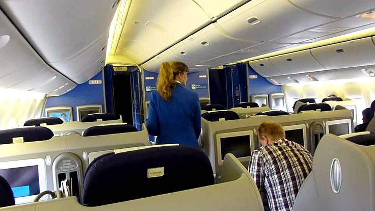 KLM - Boeing 777.300 - World Business Class New Seat - Crew ...