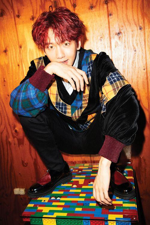 Baekhyun - 161027 'Hey Mama!' teaser image Credit: Official EXO website.