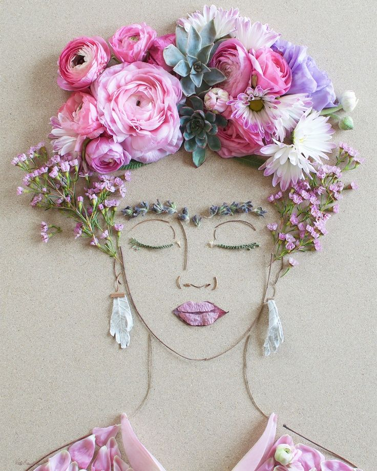 Artist calls upon Mother Nature to craft stunning artworks out of twigs and flowers | Creative Boom