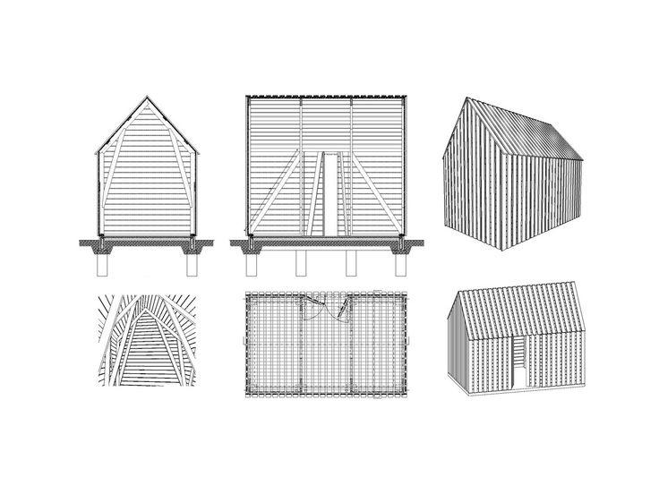 Tools hut in Nagybajom, Csaba Kovács y Áron Vass-Eysen. Hungary (2010)_nartarchitects
