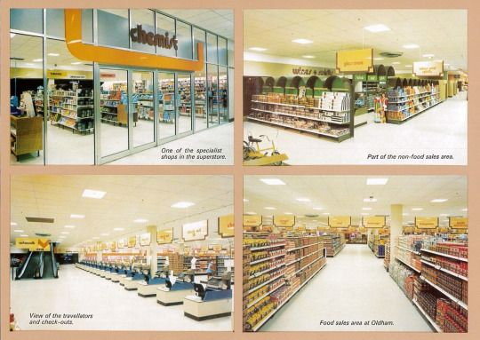 oldham co-op superstore, 1976 from 'superstores the co-op difference'