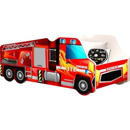 New Feuerwehr Autobett x cm Jetzt bestellen unter https moebel ladendirekt de kinderzimmer betten kinderbetten uid udde db
