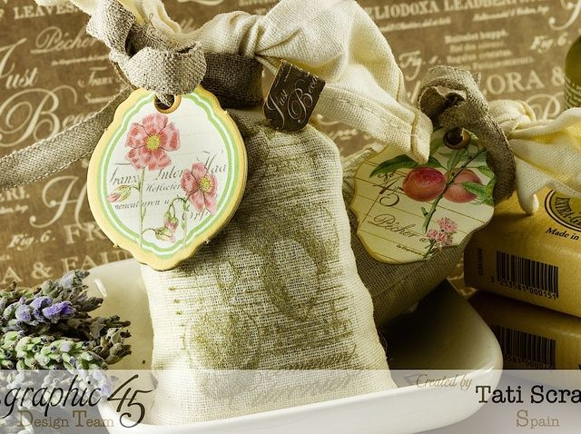 How to Make a Lavender Stamping Sachet