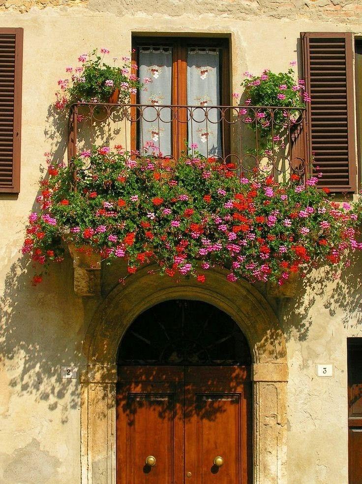 Pienza Siena Toscana. Italia.