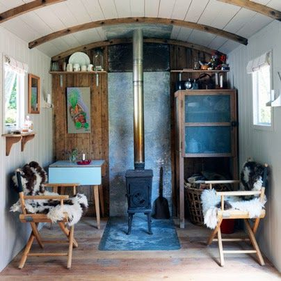Converted train car | Mobile. | Shabby chic kitchen decor ...