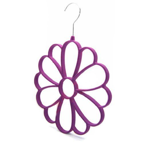 Uhome Protect and Organize Your Delicate Scarves Soft Scarf Hanger/Organizer for Closet storage scarves Tie Hangers (Purple) Uhome,http://www.amazon.com/dp/B00H42R7QW/ref=cm_sw_r_pi_dp_3LTPsb0X7J07JJ53