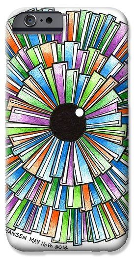 Colorb iPhone Case by Angela Hansen