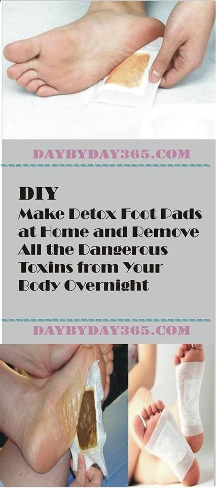 Learn How To Detox Through Your Feet with this simple method. #detox #health #feetdetox