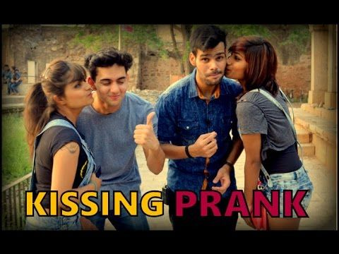 First Kissing Prank in India