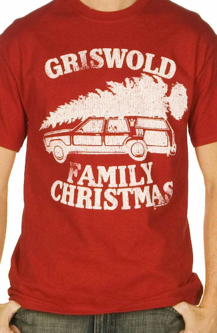 This National Lampoon's Christmas Vacation shirt features the Griswold's station…