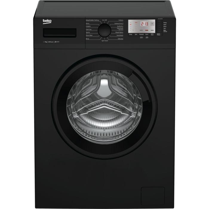 Beko WTG741M1B 7KG 1400 Spin Washing Machine - Black ...