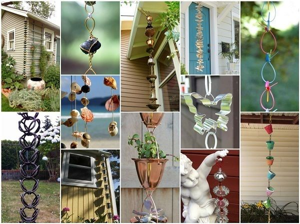 173 Best Images About Rain Chains On Pinterest Glass