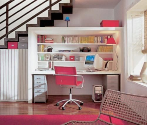 small home office design ideas, computer desks and chairs