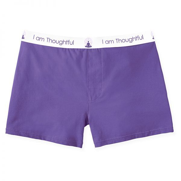 Boxers We produce quality, cool, and comfortable underwear that values the importance of inner morale, making our underwear (quite like you) unique as well as a tool for inner strength.  I am Thoughtful.  7 pack set Imported ultra soft, high quality cotton/elastane blend means our Boxer will never lose its shape Excellent all day comfort 95% Cotton | 5% Elastane