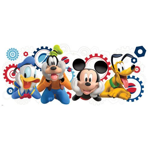 Found it at Wayfair - Mickey and Friends Mickey Mouse Clubhouse Capers Giant Wall Decal