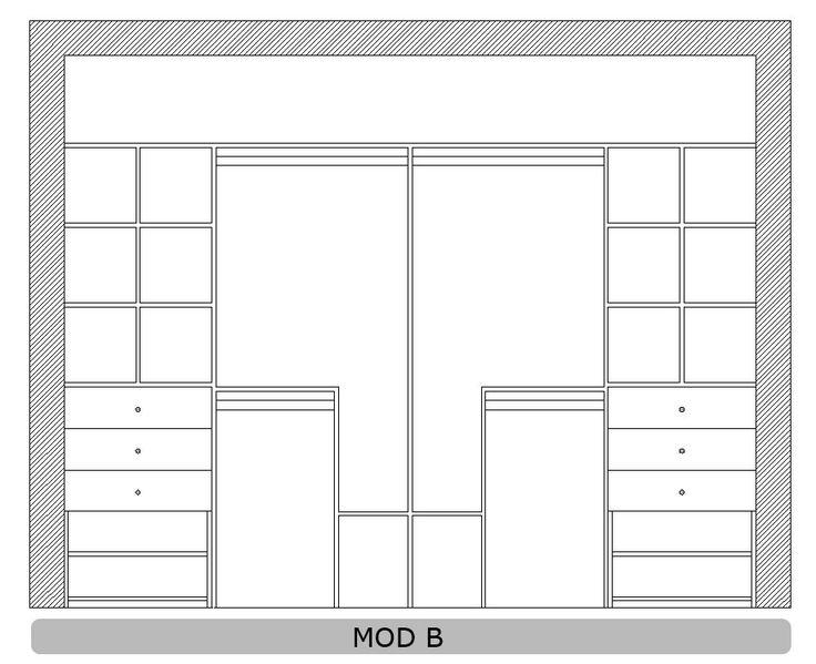 Interiores de placard a medida - Greenplacares - Placares a medida, interiores de placard, frentes de placard y vestidores diseñados y fabricados a medida.