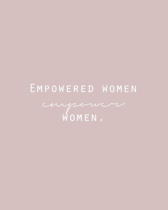 Feminist Quote Printable Empowered Women Empower Women Blush Wall Art Girlboss Printable Lad Feminist Quotes Empowering Quotes Women Empowerment