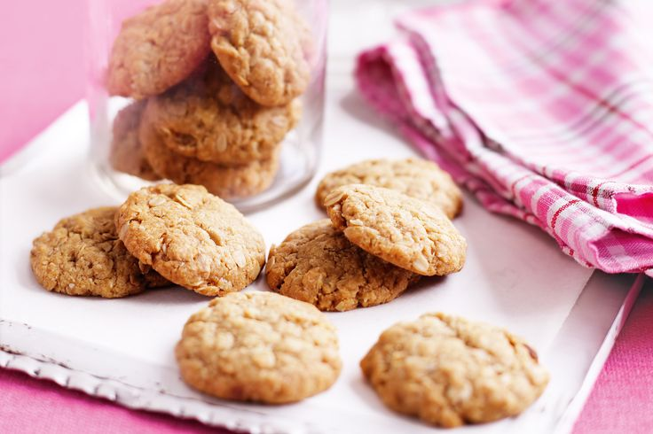 Try your hand at making these classic chewy Anzac biscuits!