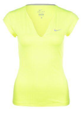 PURE - Treningsskjorter - lime/argente