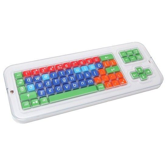 Houder voor toetsenbord - Clevy - Heeft je kind een motorische beperking? Deze houder voor het Clevy toetsenbord geeft meer controle en stabiliteit bij het typen.