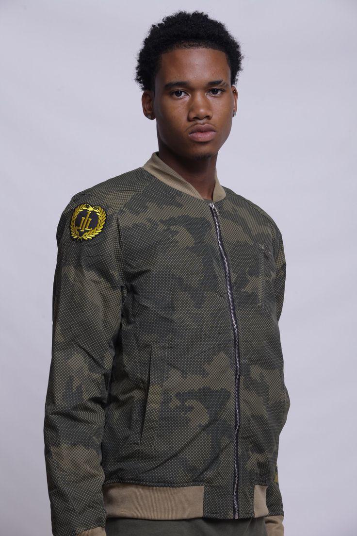 Men's Illionaire Bomber Jacket Bomber jacket, Men