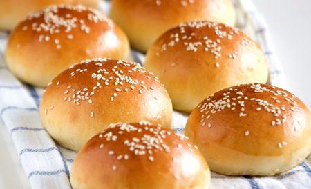 Thơm phức bánh mì hamburger bun