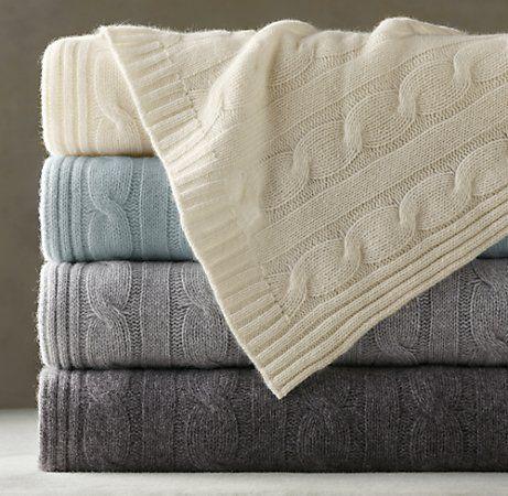 cashmere throw from restoration hardware - Cashmere Blanket