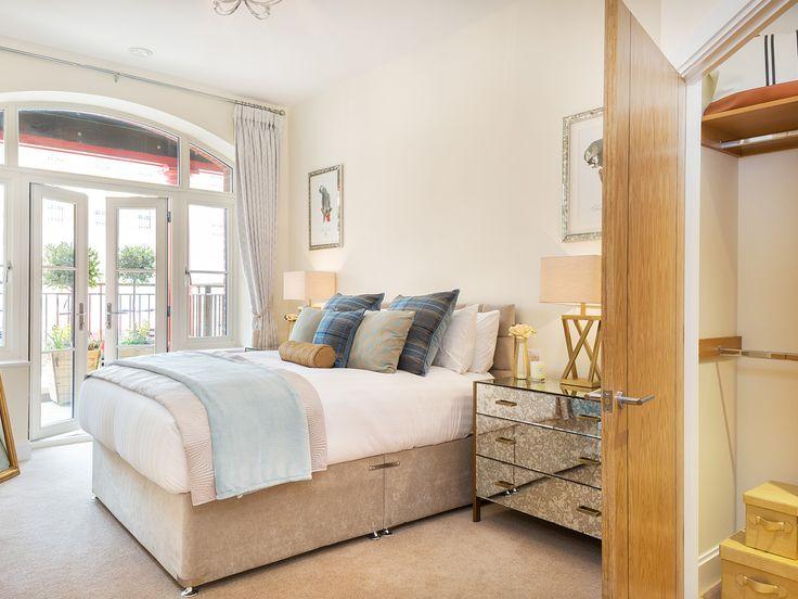 Bedroom at Bowes Lyon Court, Poundbury, Dorchester