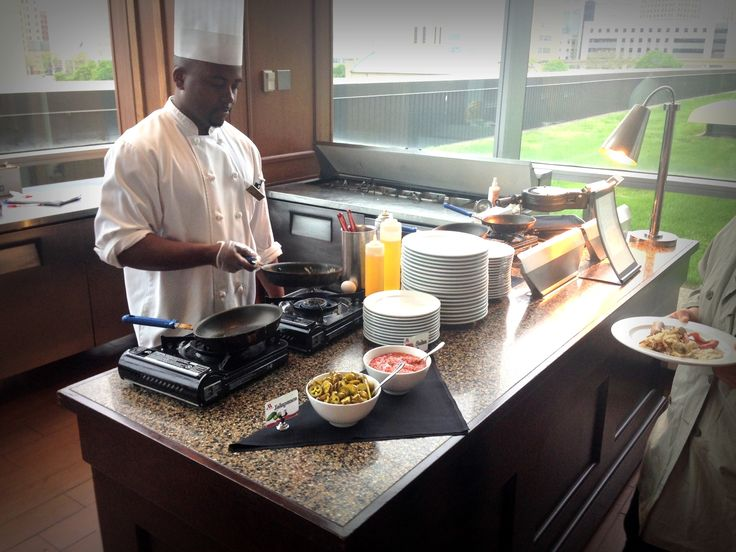 Daily breakfast buffet at Volt featuring all the staples as well as a made to order omelet station.  Visit on Level 3.