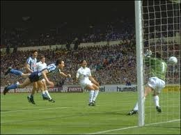 coventry city's Keith Houchen's magnificent header at Wembley in the F.A. Cup final 1987.