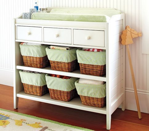 Pottery Barn Kids Changing Table (except In Chestnut)