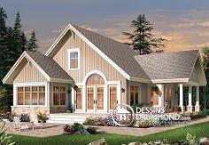 Plan de maison no. W3945 de DessinsDrummond.com