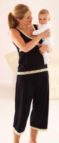 #Emma Jane, пижама для беременных, она же пижама #для кормящих женщин
