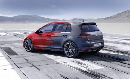 2015 #Volkswagen #Golf #R #Touch #concept