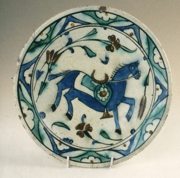 İznik dish 17th century.